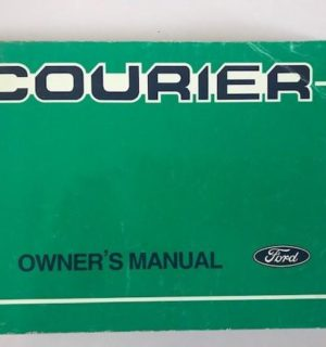 1999 FORD COURIER OWNERS HANDBOOK / USER MANUAL / HAND BOOK